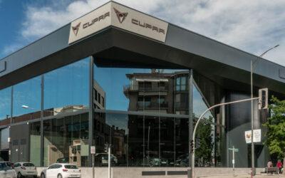 Sarsa, concesionario del grupo Movento, abre un nuevo establecimiento oficial dedicado a CUPRA